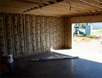 New homes by wickman construction for Best insulation for new home construction
